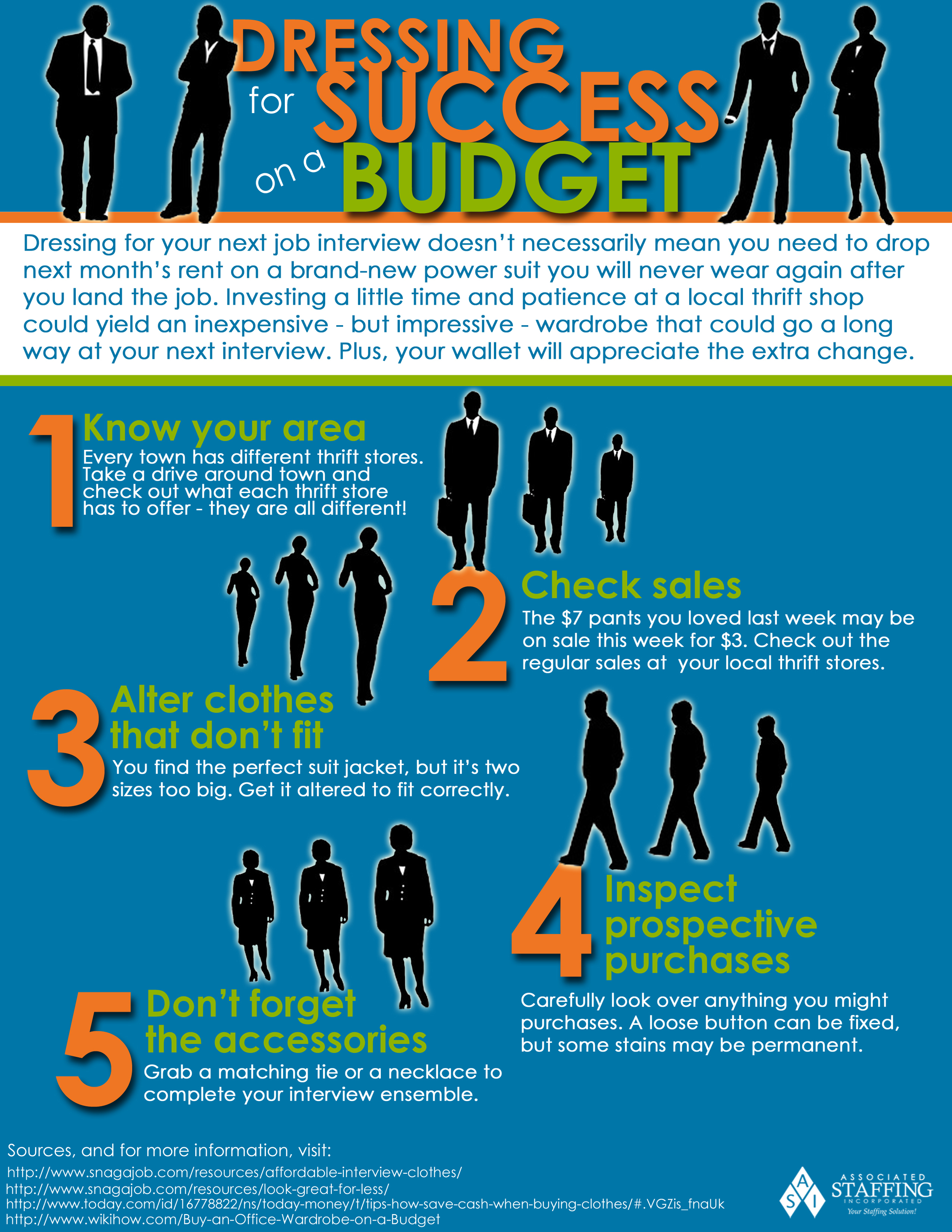 Dressing for Success on a Budget — Associated Staffing, Inc.