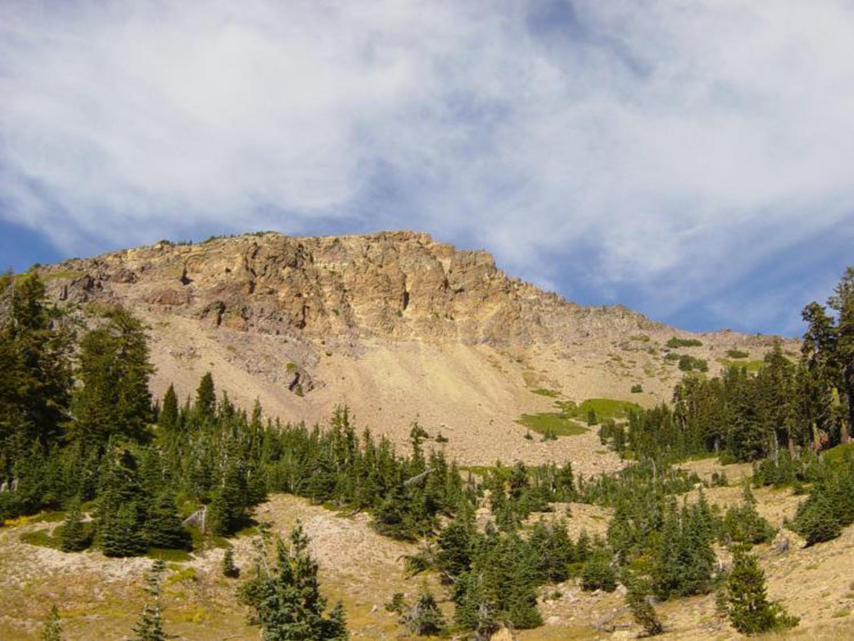 Mt. Tehama in Northern California