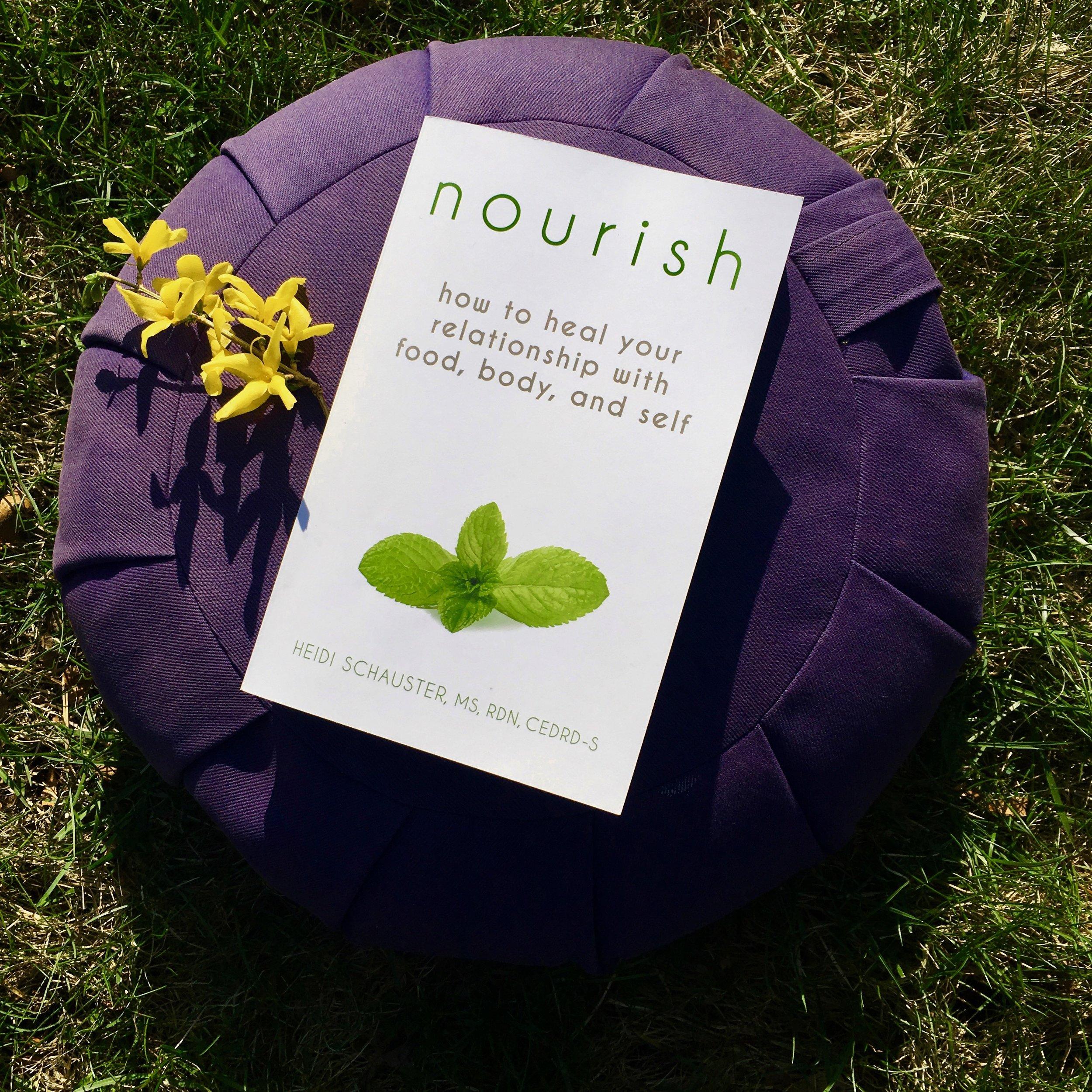 Nourish Book Heidi Schauster