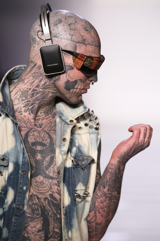 "Rick Genest ""Zombie Boy"" for T&T 2013"