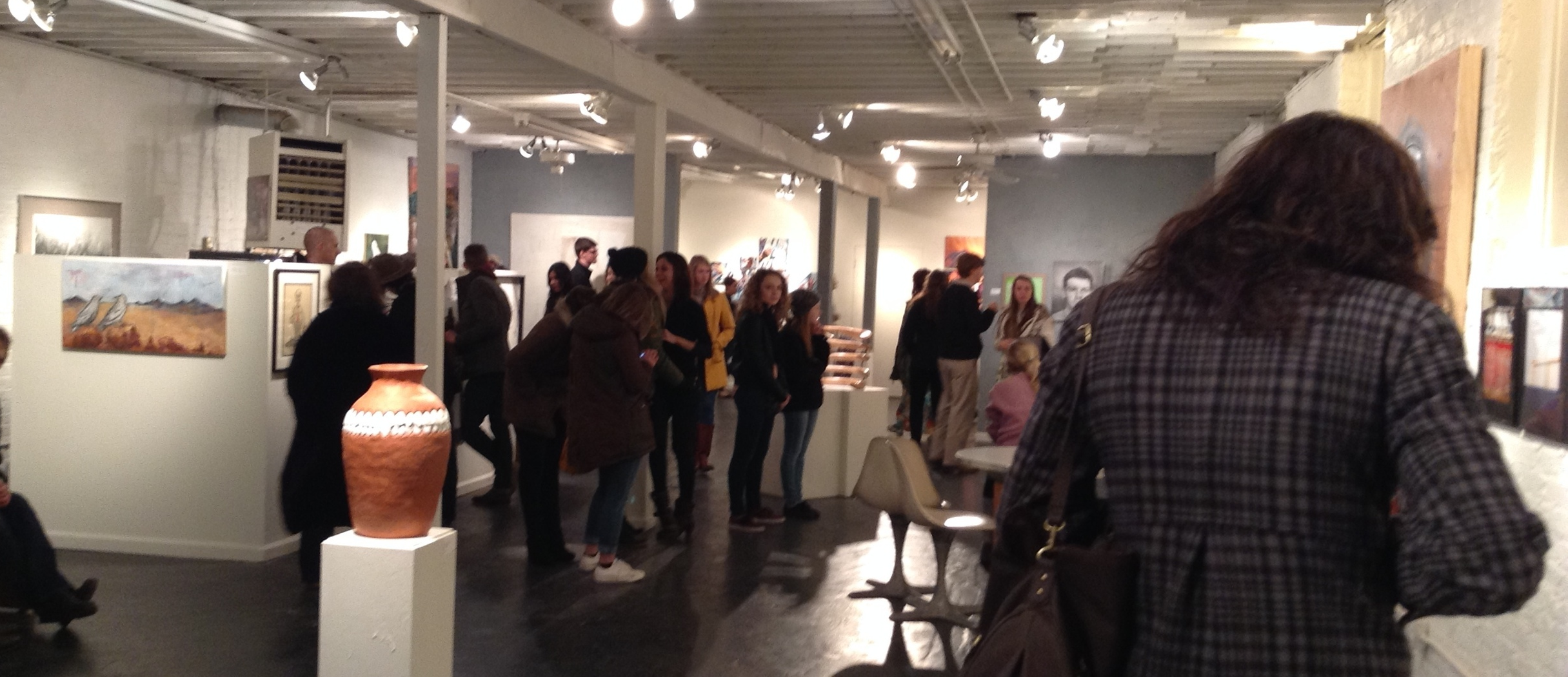 Gallery Hop 7-10PM on the First Friday every Month