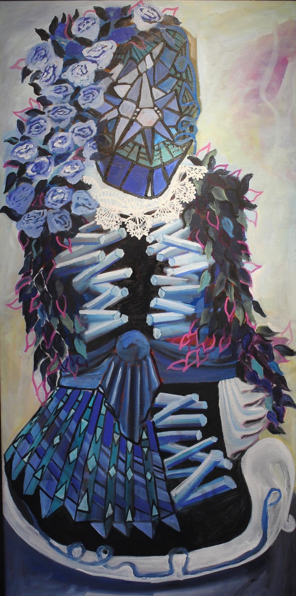 Portrait of Cyan Self - Madalyn Wofford