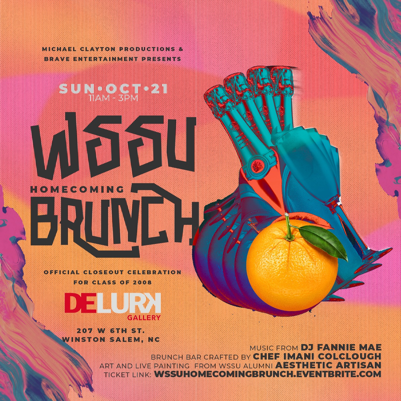 click link below for more - http://wssuhomecomingbrunch.eventbright.com