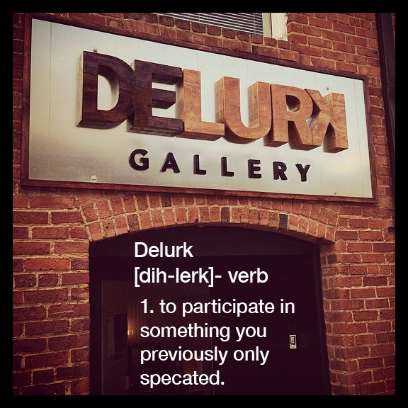 - Click image for the Delurk Collective