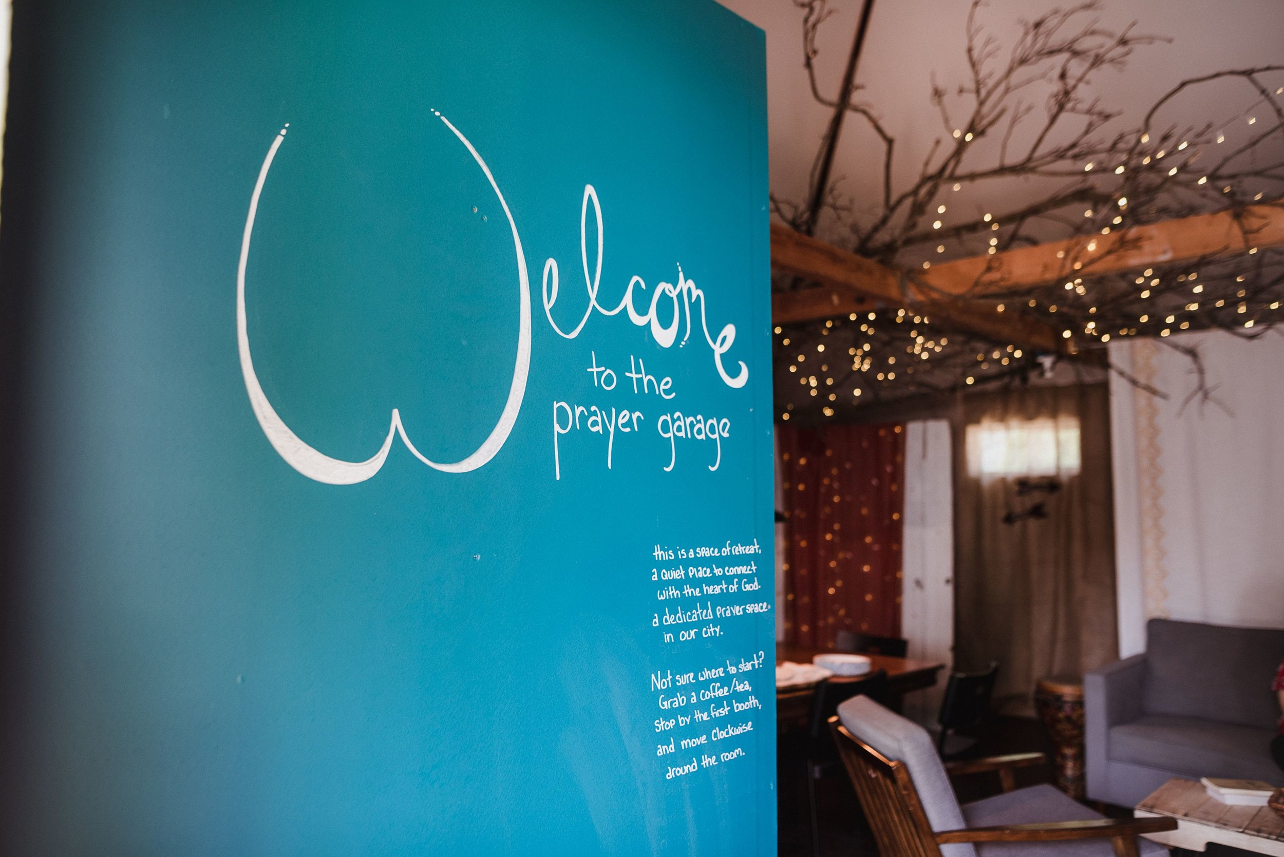PRAYER GARAGE -