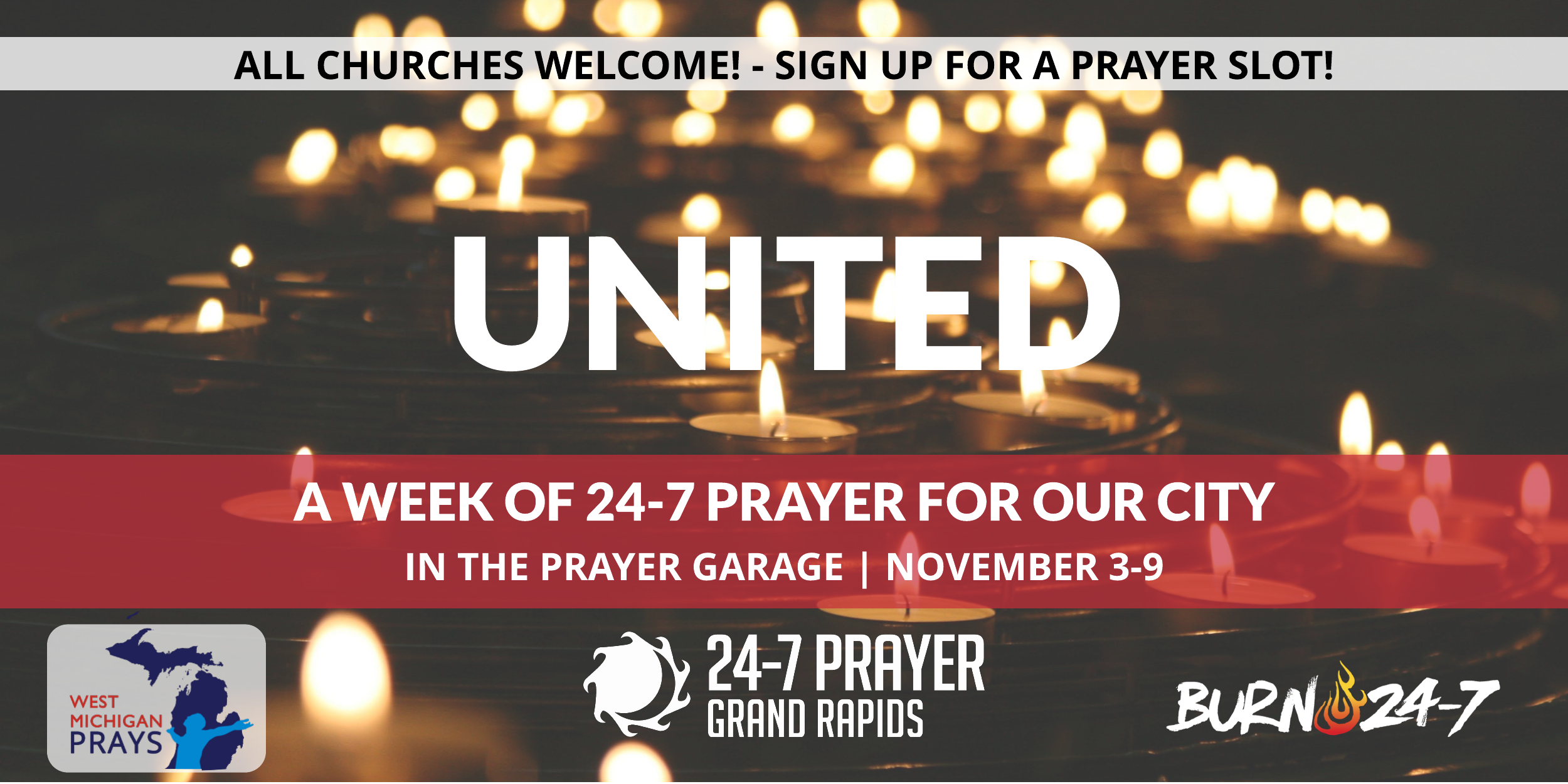 CLICK THE IMAGE above to sign up with the ONLINE PRAYER SIGNUP
