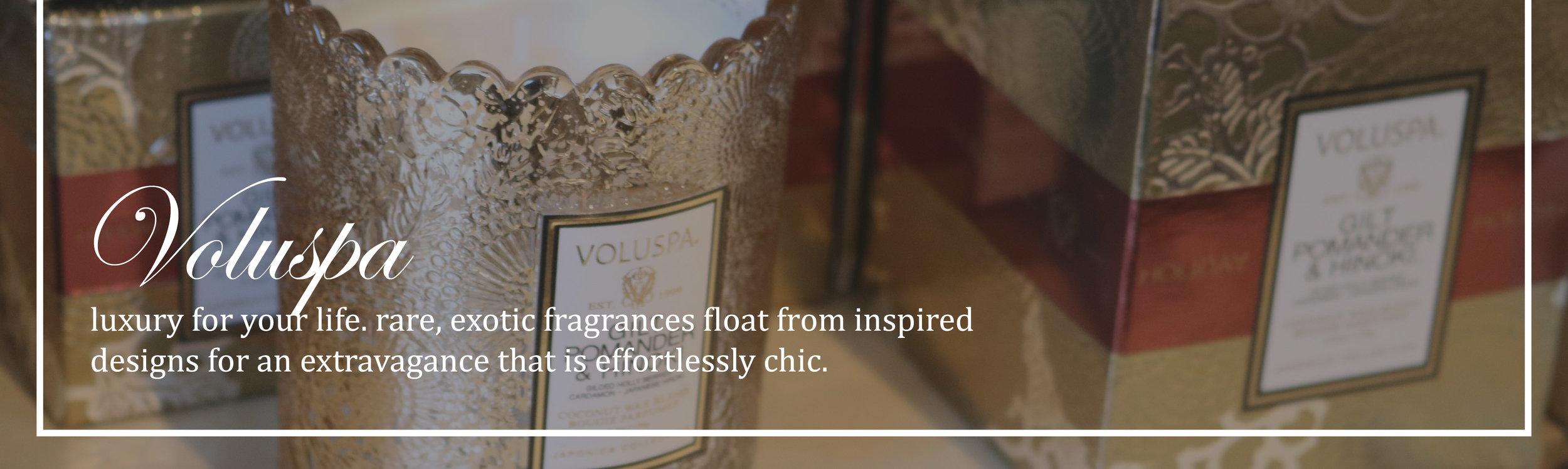 Voluspa Luxury Candles & Fragrance