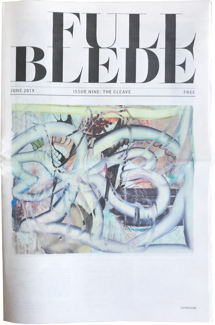 Work included in Issue 9: The Cleave of Full Blede