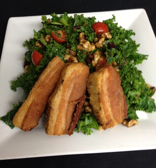Kale Salad at Kinzie Chophouse