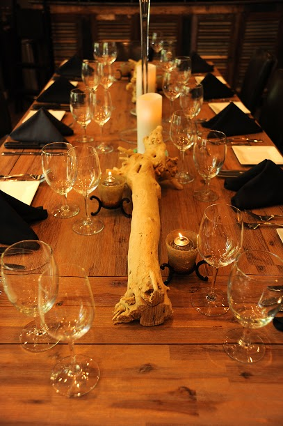Kinzie Chophouse Steak 25 Years Anniversary Steakhouse Wine Huntress Long Dining Table Elegant Table Settings.jpg