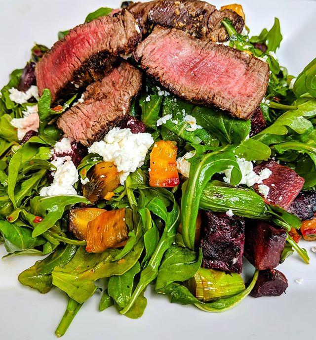 Salad Goals. . . . . . #salad #beets #goatcheese #chicagofoods #chicago #do312 #asco19  #chicagofoodie #chicagofoodmag #chicagoeats #chicagofoodscene #chicagofoodauthority #chicagogram #chicagoeater #zagat #eater #foodandwine #bonappetitmag #infatuation #food #foodie #foodporn #foodgram #instafood #foodshare #nom #yum #steak #steakhouse #meat