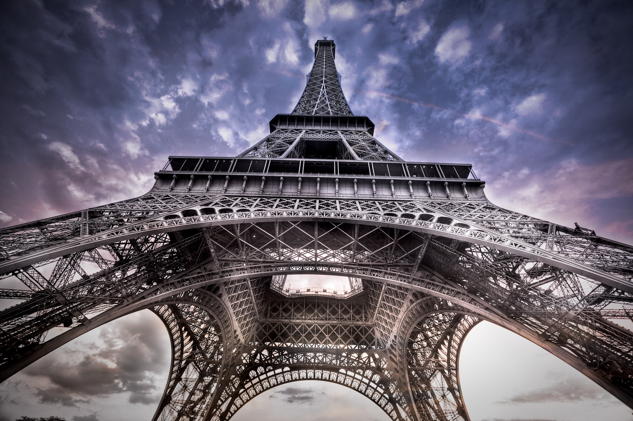 The first shot of the Eiffel Tower that I really liked