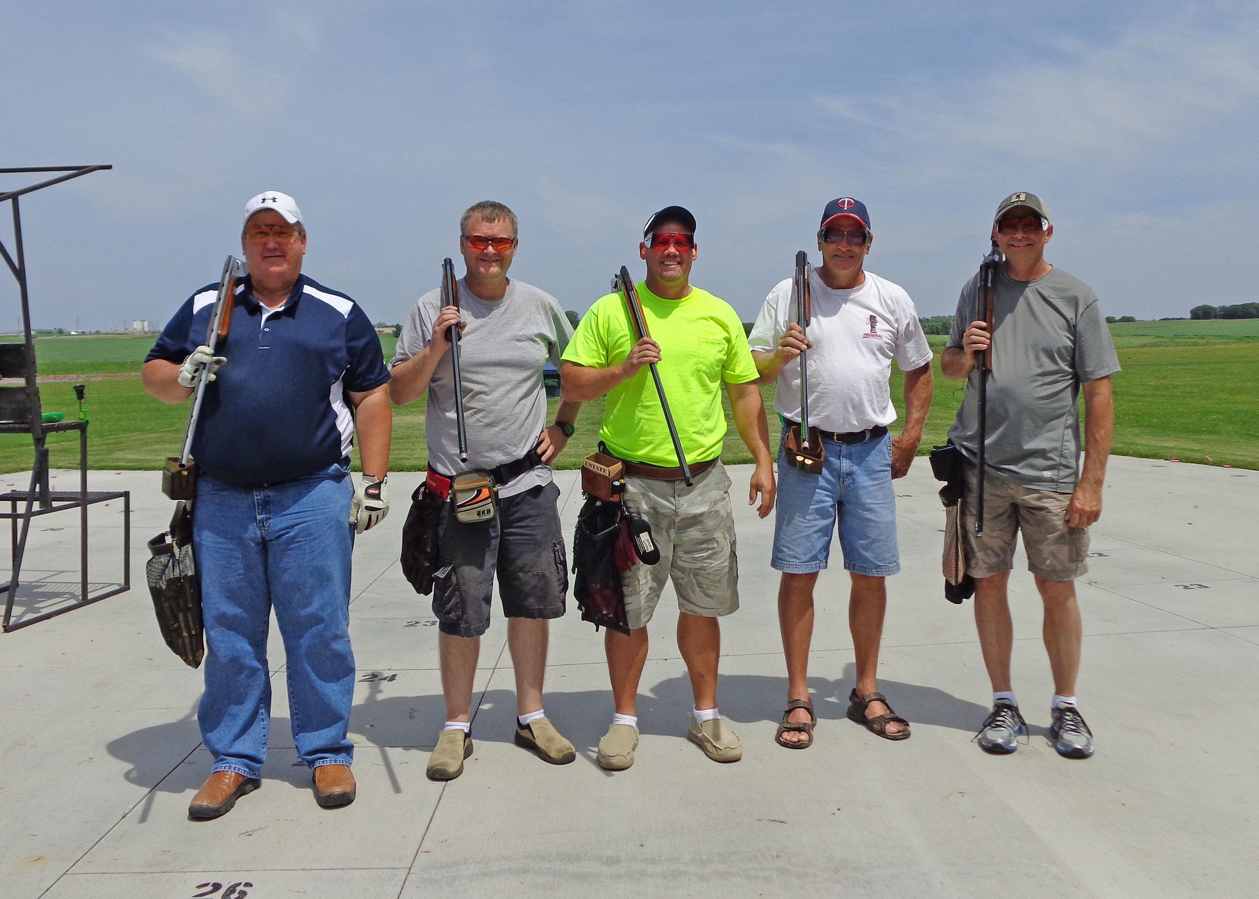 125 Squad  Kevin, Jon, Rodney, Bill, Chris