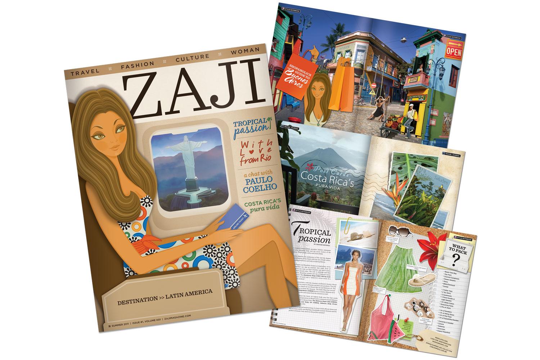 Client: Zaji Magazine