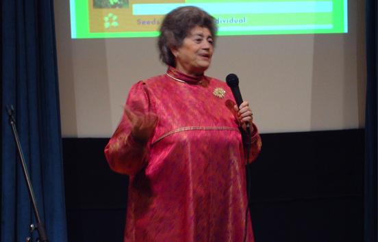 Natacha Kolesar at the UN