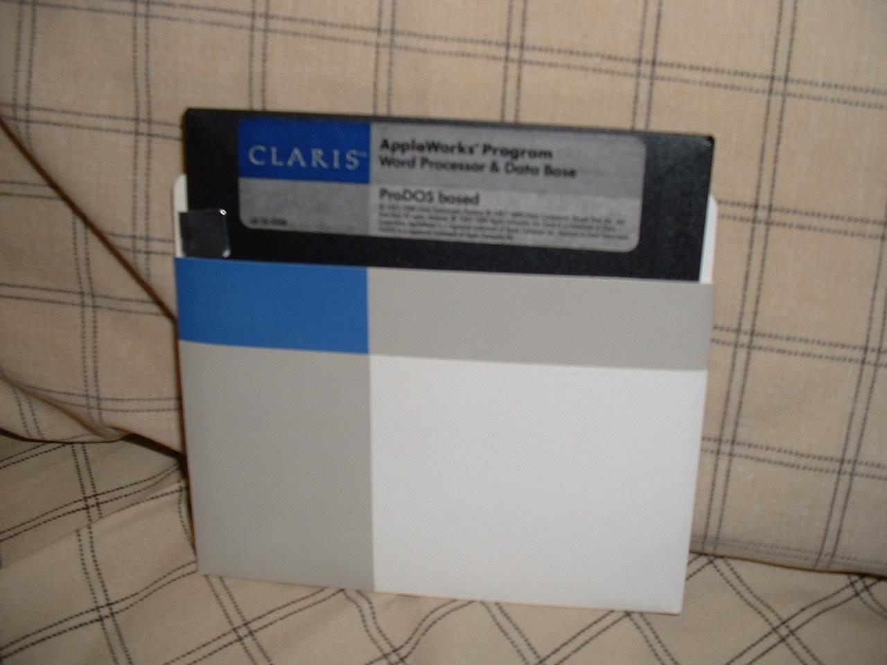 Claris Works Disks.JPG