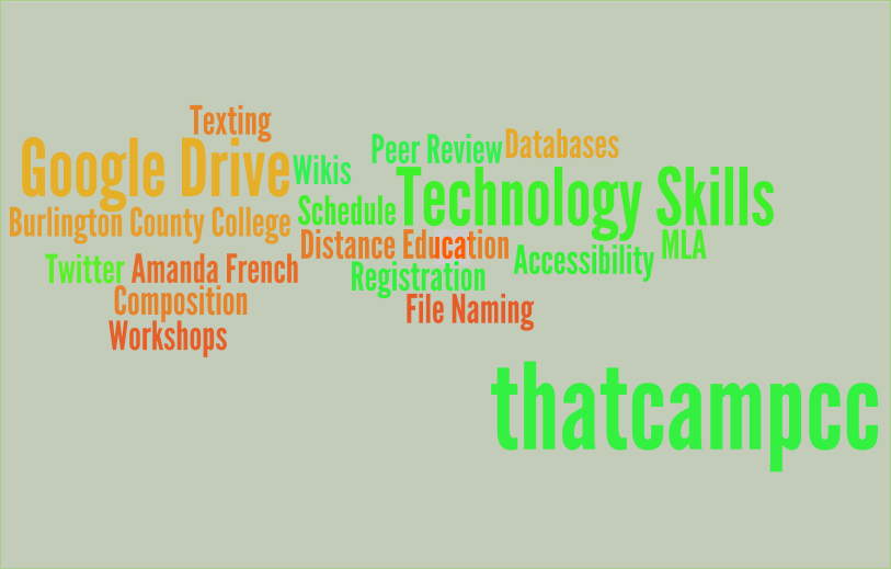Our tag cloud of discussion posts so far...we are going to put this on shirts next year hopefully...
