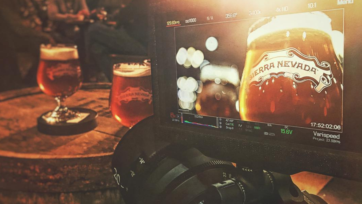 Sierra Nevada beers and Sony CineAlta Primes...  a match made in heaven