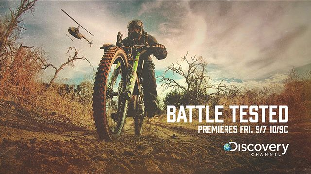 Catch the premiere of our show, Battle Tested, on @discoverychannel Friday at 10/9c. Two former Green Berets put the newest survival gear on the market and themselves through the ultimate tests!  #battletested