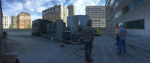 Split power rooftop units allow for generator backup of essential systemsrad