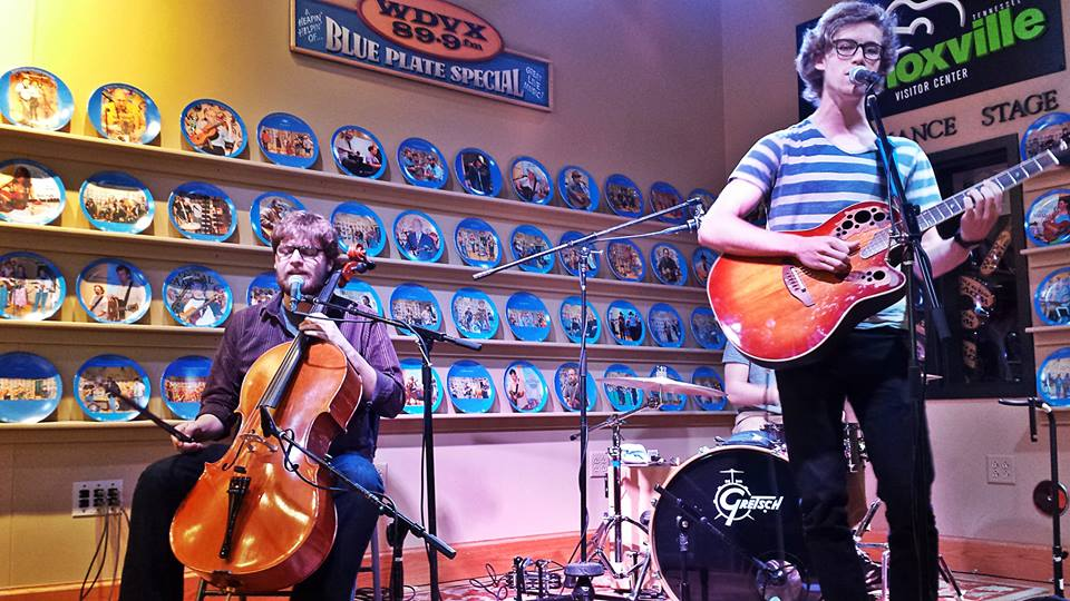 David Francisco and Gideon Klein perform at The WDVX Blue Plate Special