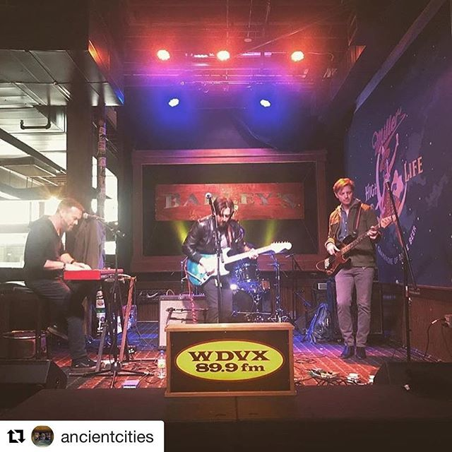 One of our favorite live shows of @rhythmnbloomsfest has just announced their return to Knoxville July 21st! We can't get enough of @ancientcities!