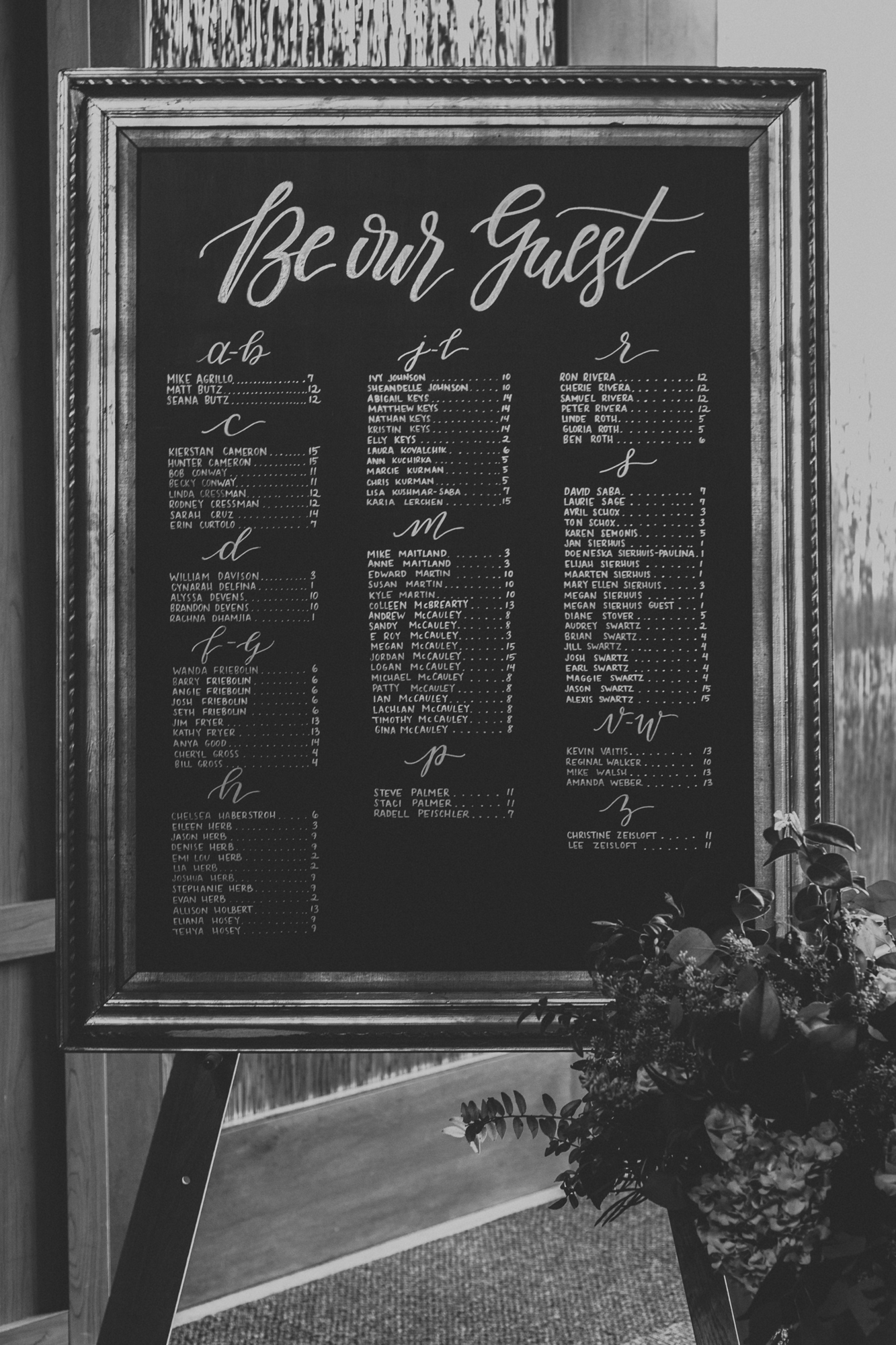 reception-seating-chart-blue-mountain-wedding