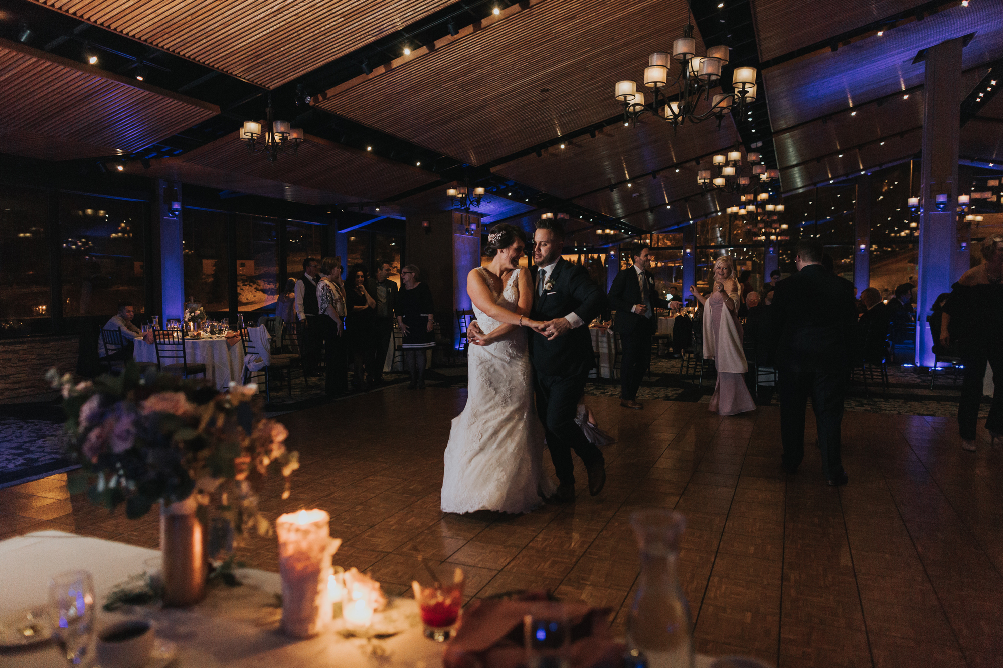 bride-and-groom-reception-blue-mountain-ski-lodge-photography