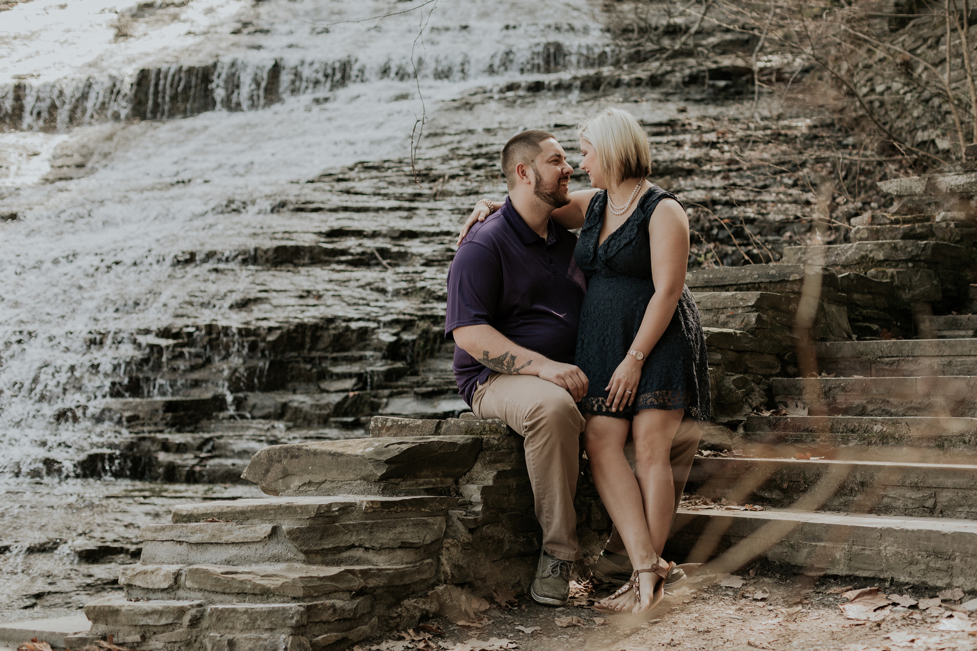 butter-milk-state-park-waterfall-engagement-photography