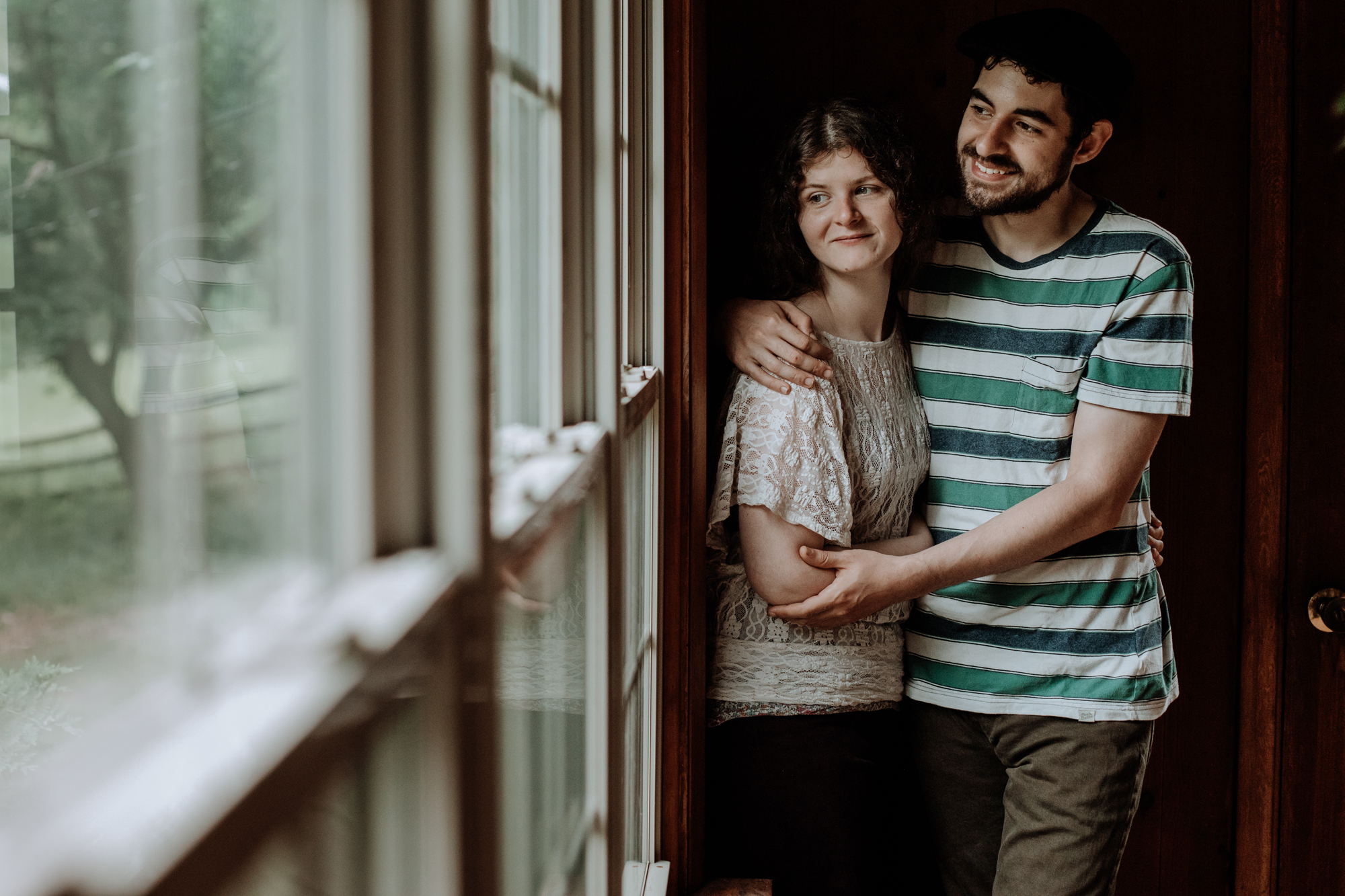 indoor-engagement-session-window-light-photography-couple
