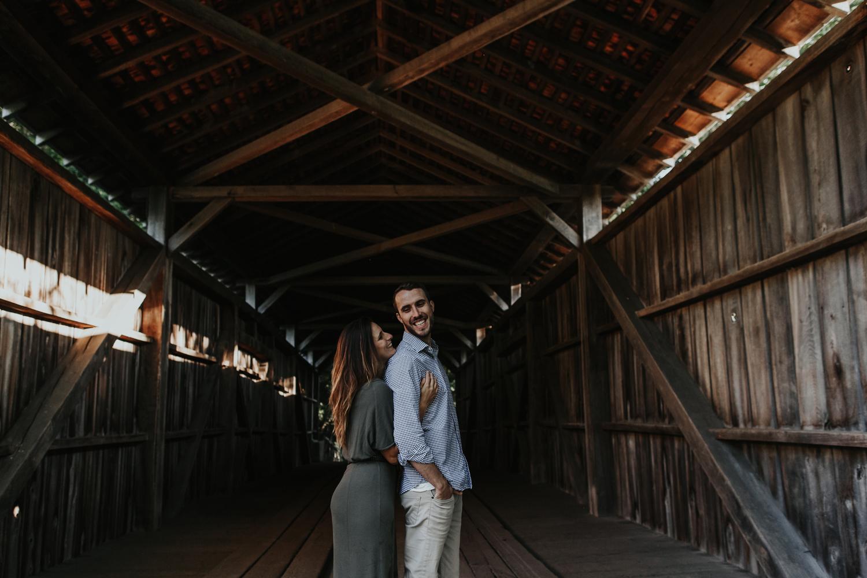 the-laurels-preserve-covered-bridge-brandywine-conservancy-coatesville-pa-sunrise-engagement-photography