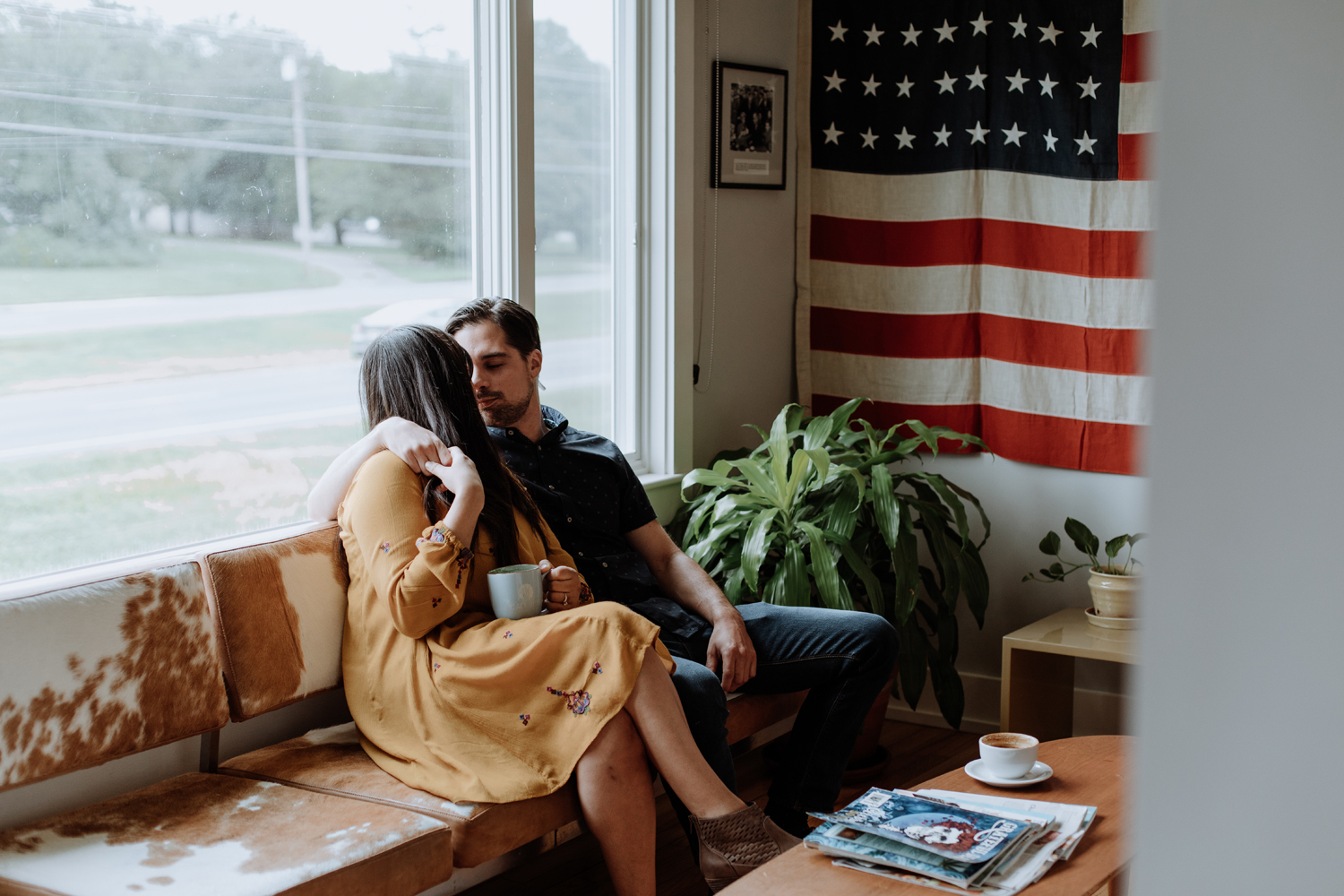 black-river-roasters-indoor-coffee-shop-engagement-photography