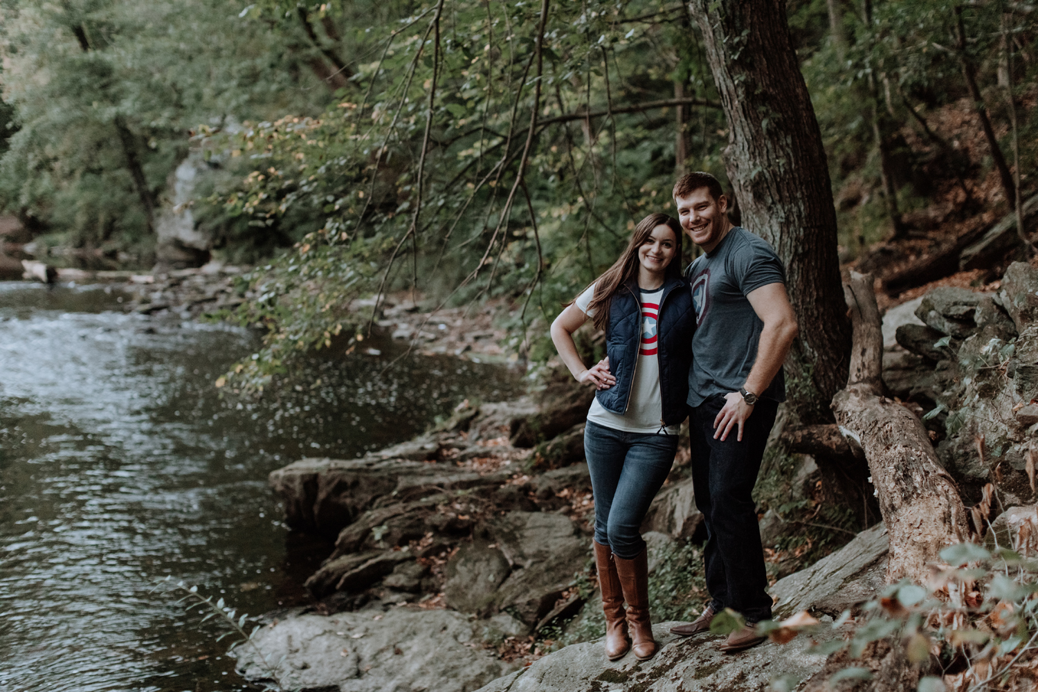 casual-engagement-photography-easton-pa