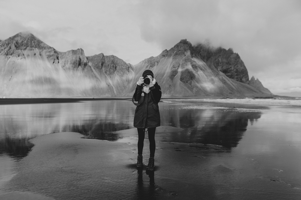 vestrahorn-self-photograph