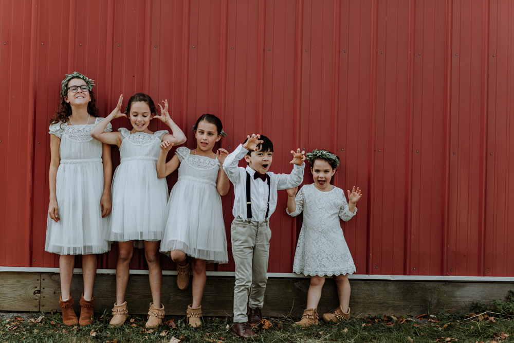 flower-grils-ring-bearer-cute-farm-bohemian-woodsedge-wedding