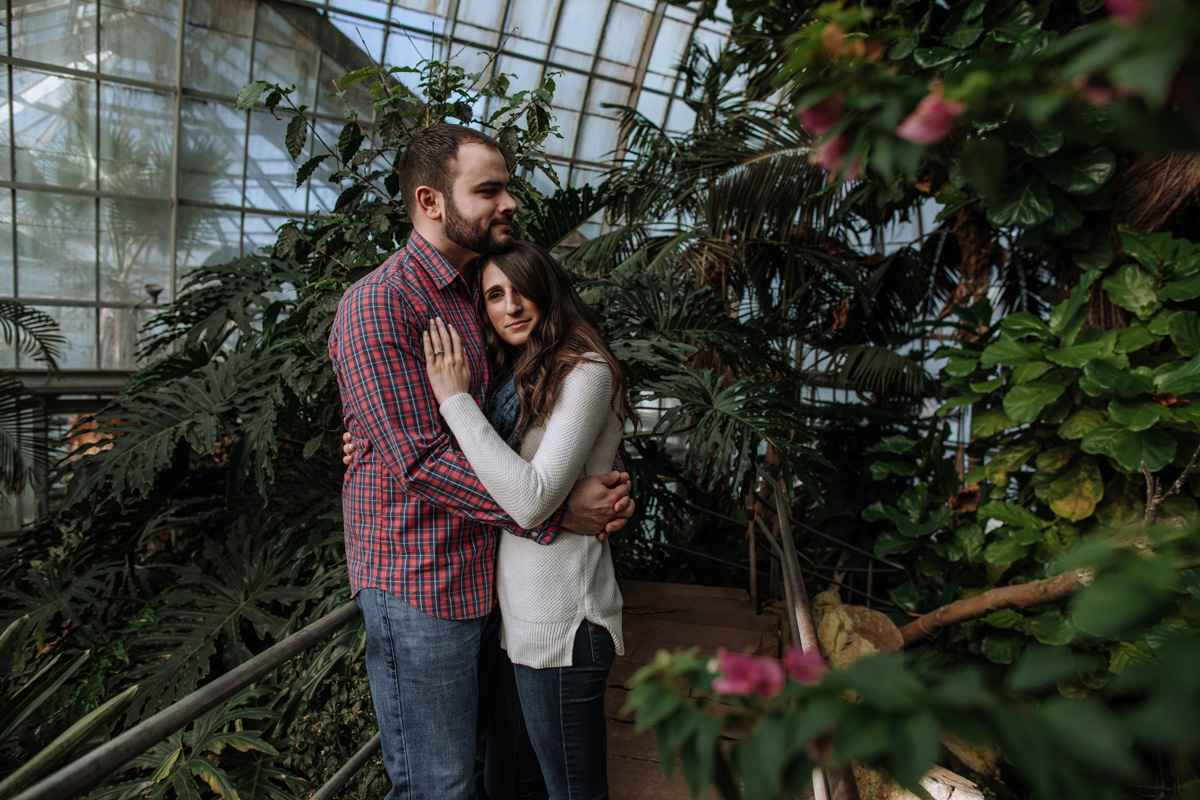 otts-exotic-plants-schwenksville-engagement-session-photography