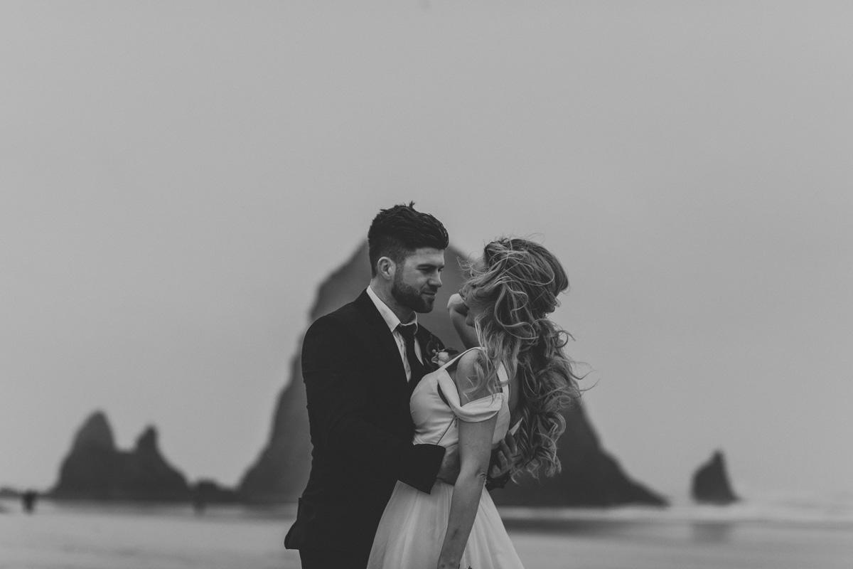 cannon-beach-haystack-rock-couple-portrait