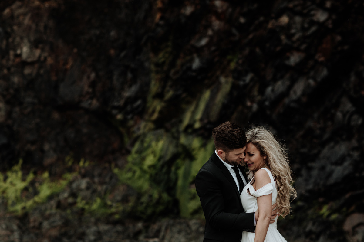 Natalia + David | Cannon Beach and Hug Point Elopement