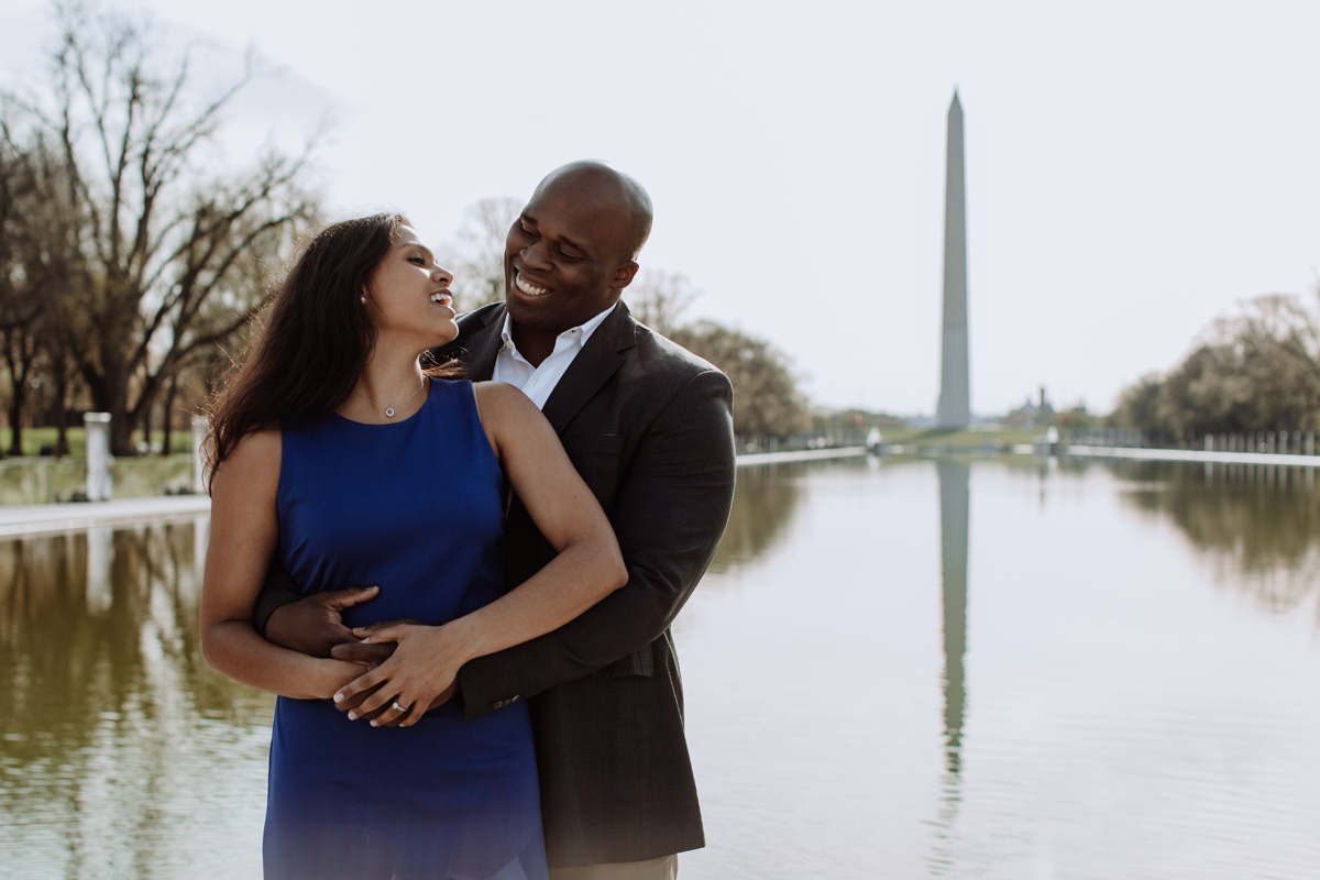washington-dc-engagement-photography-lincoln-reflecting-pool