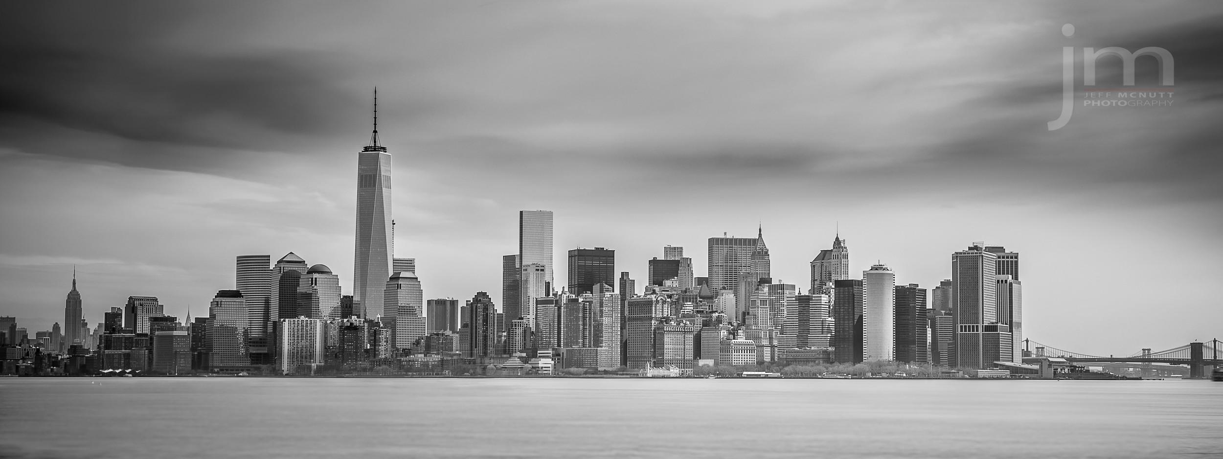 This is a shot of Manhattan taken from Ellis Island