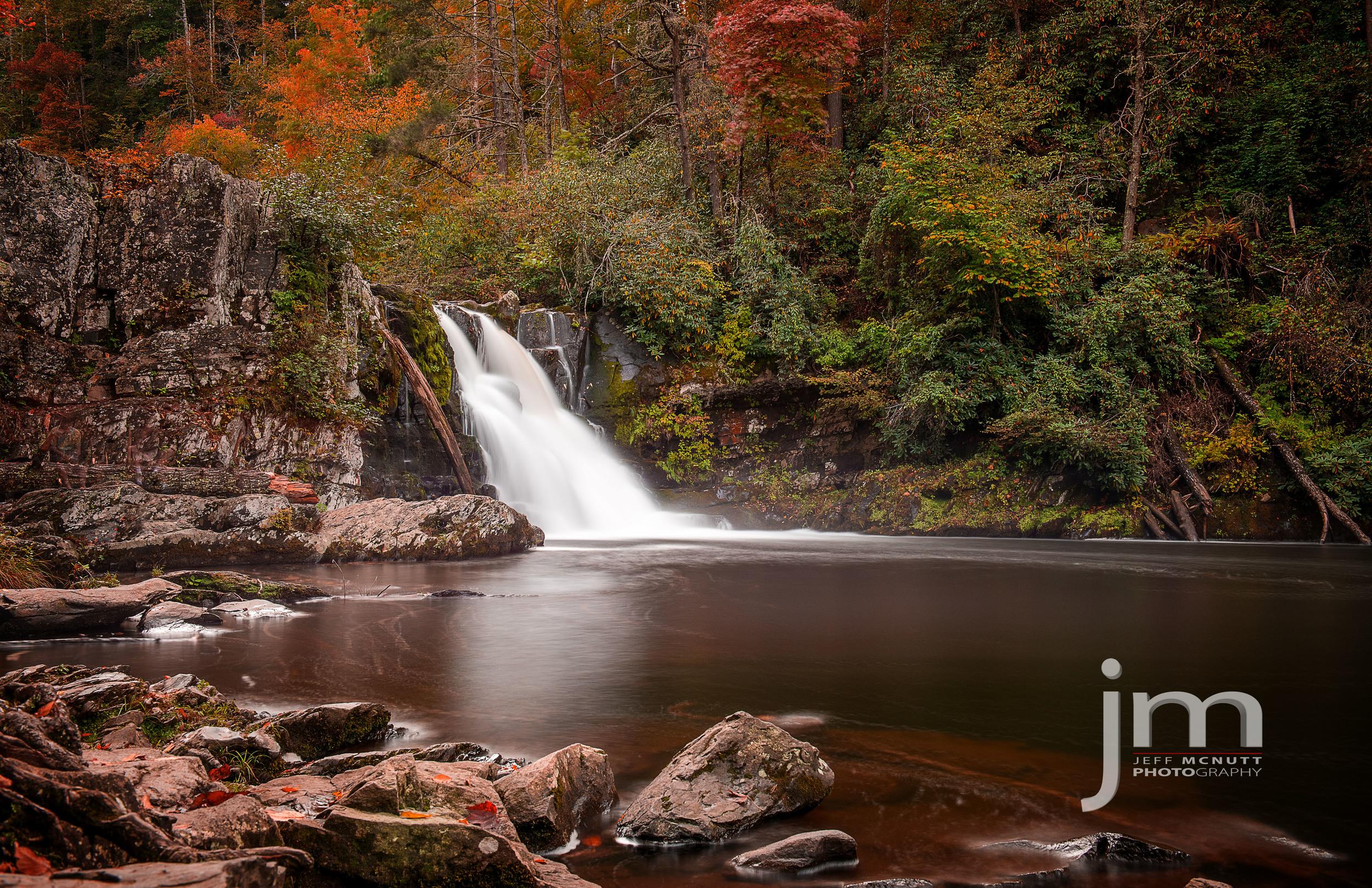 Abram's Falls, Cades Cove, Great Smoky Mountains National Park