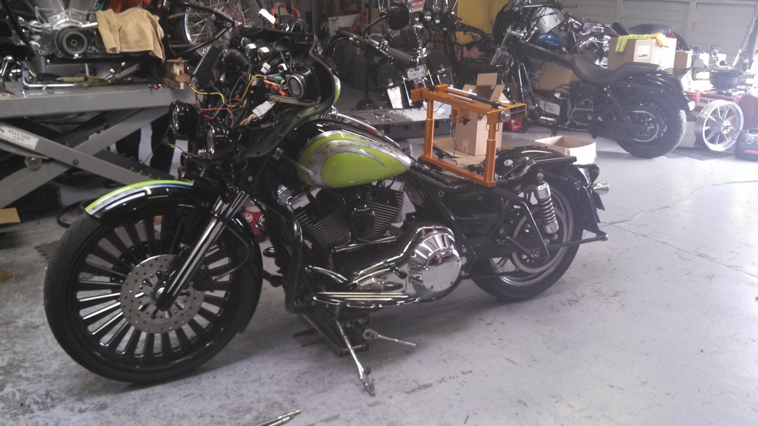 Use on custom big wheel bikes