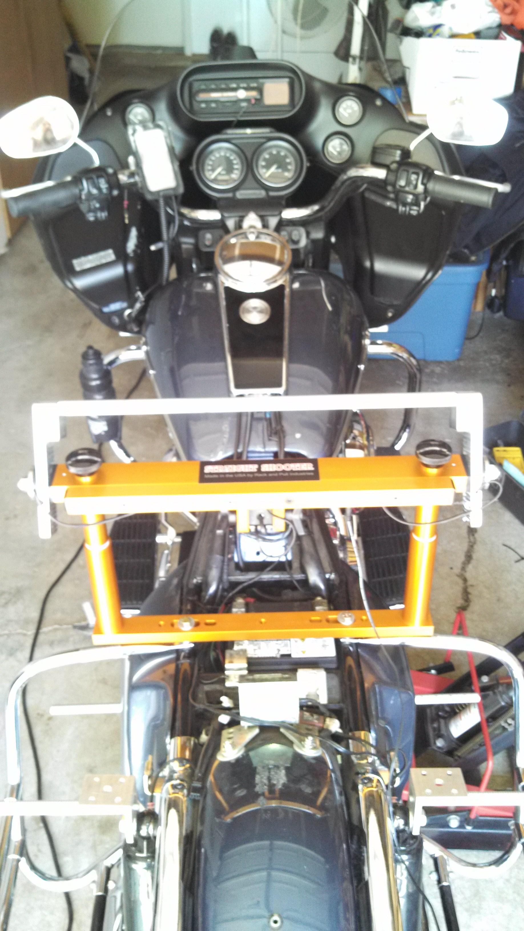 Road Glide suspension alignment