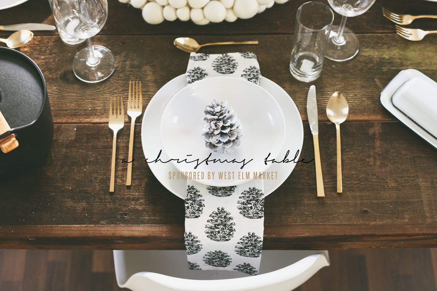 West Elm Christmas.A Christmas Table Sponsored By West Elm Market
