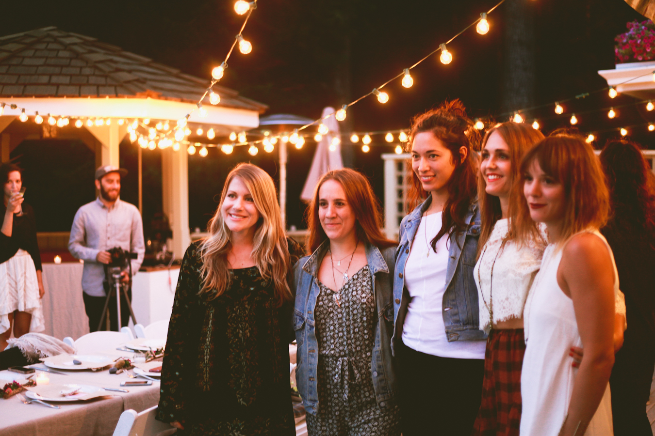 Jessica ,  Naomi ,  Jules , Shelly, and  Nikki  - Free People (What lovely ladies hey?!)