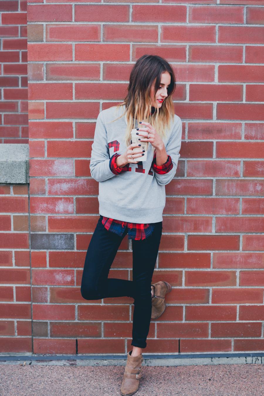 GAP Styld.by - Plaid-Grey Sweater-1.jpg