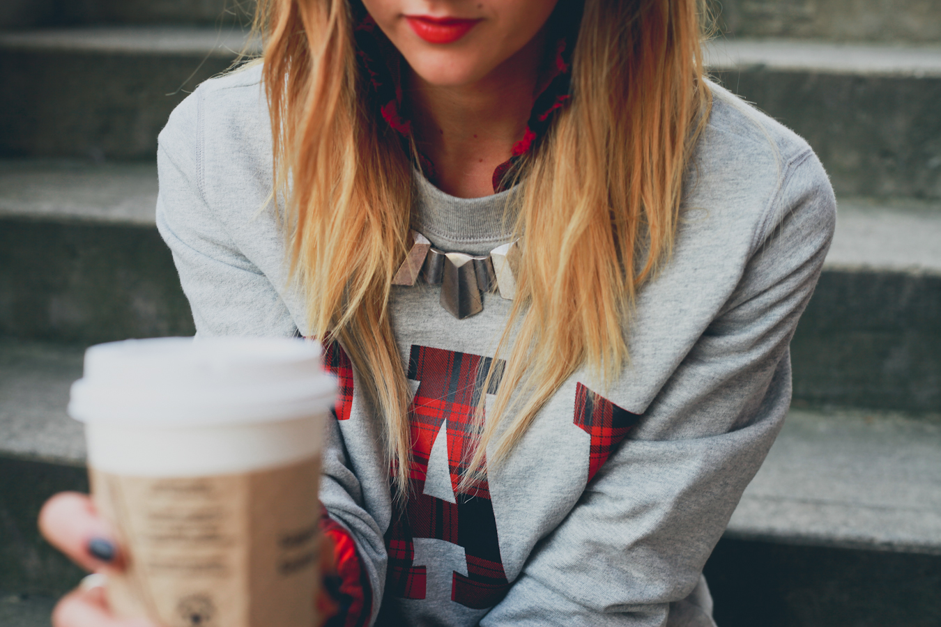 GAP Styld.by - Plaid-Grey Sweater-8.jpg