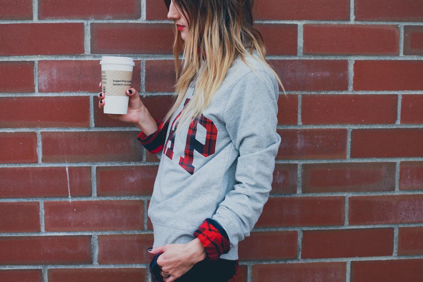GAP Styld.by - Plaid-Grey Sweater-3.jpg