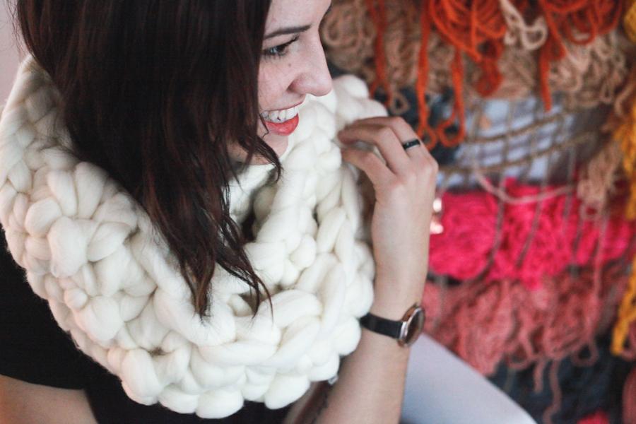 diy knitting needles scarf.jpeg