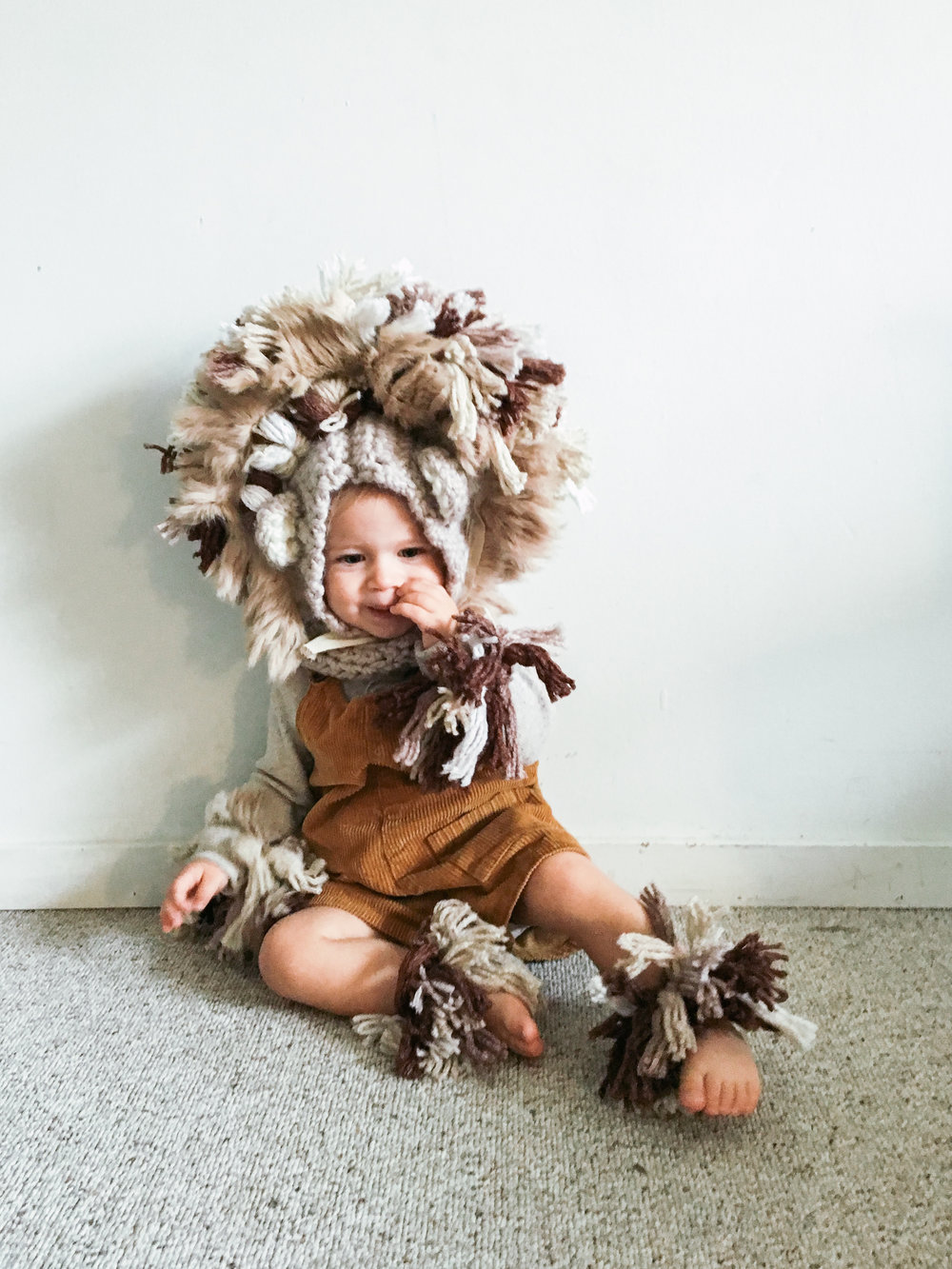 Little Lion Costume Diy Treasures